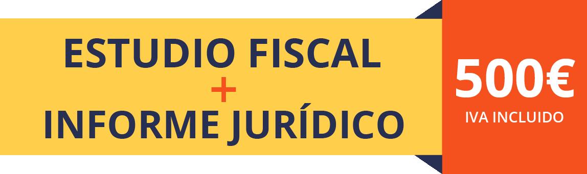 Estudio fiscal e informe jurídico