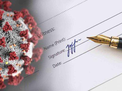 hacer testamento coronavirus