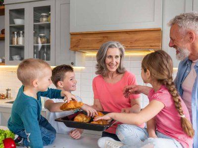 pensión de alimentos a familiares