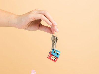 entregar las llaves al banco